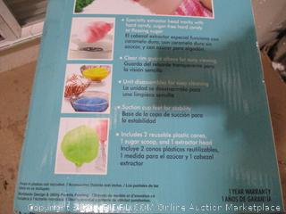 Nostalgia - Retro Hard Candy Cotton Candy Maker