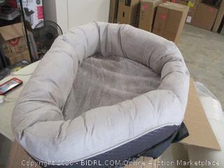 "BarksBar - Snuggly Sleeper Orthopedic Foam Pet Bed (32"" x 23"")"