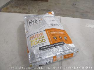 Nude Superfood Dry Dog Food, 13 lbs (Sealed)