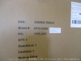 Lucia Wood Dining Table (Retail $1000)