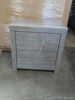 signature design by Ashley Furniture 2 drawer Culverbatch nightstand