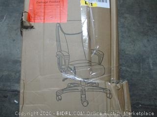 Bonded Leather Big & Tall Executive Office Chair