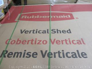 Rubbermaid Vertical Shed