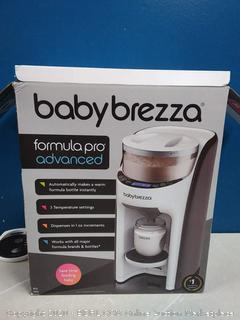 Baby Brezza Formula Pro Advanced Formula Dispenser Machine - Automatically Mix a Warm Formula Bottle Instantly - Easily Make Bottle with Automatic Powder Blending  (powers on) online $199