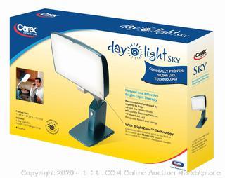 DayLight Sky Bright Day Light Therapy System Carex Energy Sleep Light (Online $70)