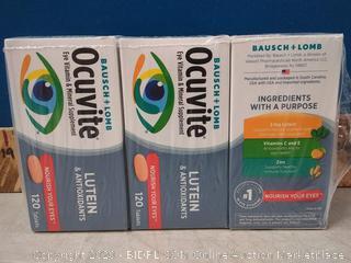 3 Pack Ocuvite Eye Vitamin Adult 50+ Formula, 150 Soft Gels Total (online $47)