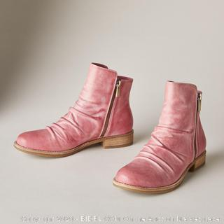 Coltplay Moonlit Ridge Leather Boots - Berry Color - Size 39 (online $139)