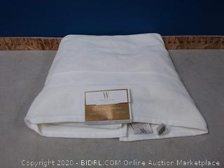 "Wamsutta classic Turkish fade resistant luxurious bath sheet 40"" x 70"" (online $32)"