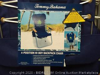 Tommy Bahama Backpack Hi Boy Beach Chair in Blue (online $59)