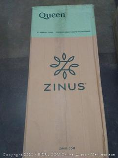 Zinus 8 inch Memory Foam pressure relief green tea mattress - Queen