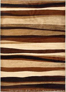 Home Dynamix Tribeca Jayden Contemporary Area Rug Abstract Light Brown/Dark Brown/Tan 5ft 2in by 7ft 2in (online $99)