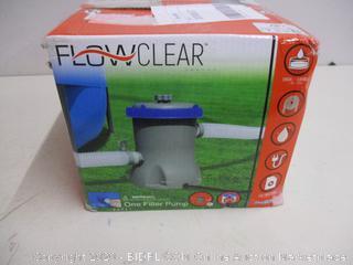 One Filter Pump