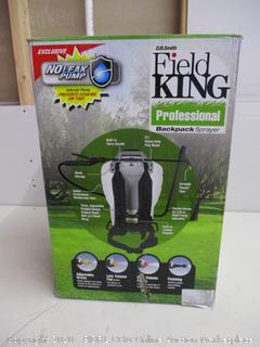 Field King 4 Gallon Professional Backpack Sprayer