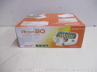 RCOM Max 20 Fully AUTOMATIC Digital Egg INCUBATOR (Retail $450)