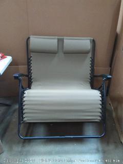 Caravan Sports zero gravity chair beige loveseat