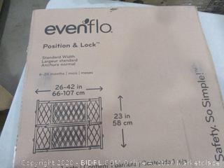 Evenflo Position & Lock Gate