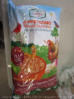 Massive Dried Appetizing Mealworms