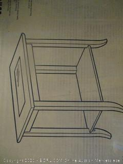End Table (Sealed, Opened for Picturing)