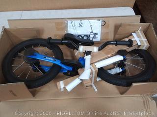 Strider 14x sport Balance Bike awesome blue
