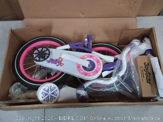 Joy star bicycle fairy 14 purple