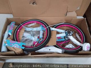Joy star Paris 18in Wheel pink and blue