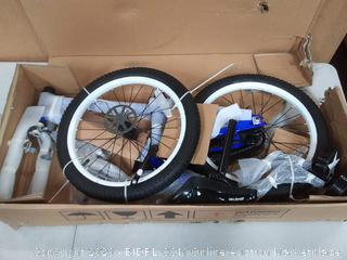 joystar 18 inch wheel bike Pluto blue