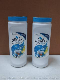 Glade clean linen carpet and room refresher 32 oz 2 pack