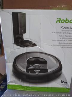 iRobot Roomba iPhone 6 Plus I6550(small smash in bottom docking station) (powers on)