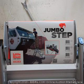 Little Giant Ladder Systems 11904 4-Step Jumbo