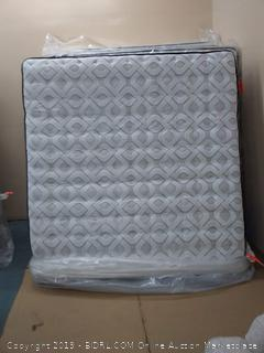 King Sealy Humboldt  Comfort Pillow Top Mattress (MSRP $2420)