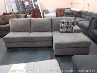 Signature Design by Ashley Ryder Loveseat & Chaise (MSRP $1360)