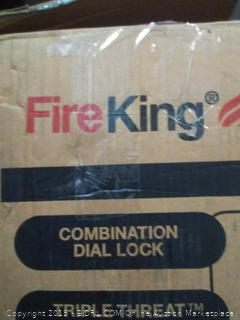 BisonOffice: One Hour Fire and Water Safe with Combo Lock, 0.85