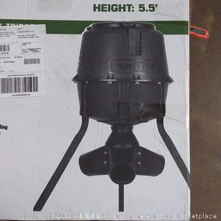 "Moultrie Deer Feeder - 30 gallon - Gravity - Height 5'5"""