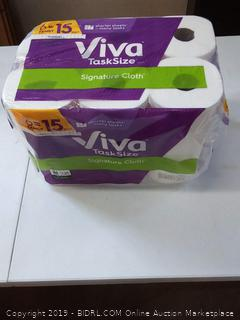 Viva task size towels - signature cloth - 6 family Rolls