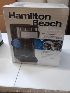 Hamilton Beach 12-Cup Programmable Coffee Maker with Front-Fill