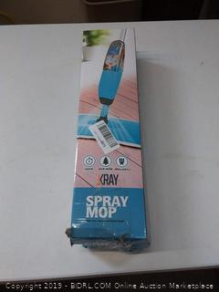 Kray Heavy Duty Spray Mop, 360 Spin No Scratch Microfiber with Integrated Sprayer