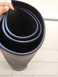 """Guardian Air Step Antifatigue Mat, Polypropylene 36"""" x 60""""- Black"""