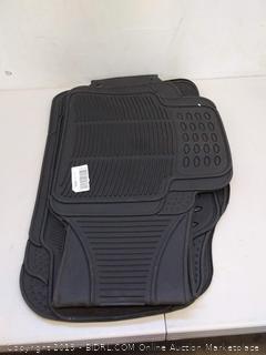 Black car mats- 4 units