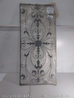 Metal Wall Art Victorian Style