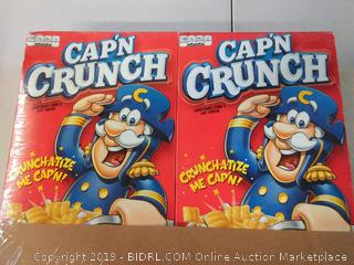 Cap'n Crunch Cereal, 20 oz Boxes, 4 Count