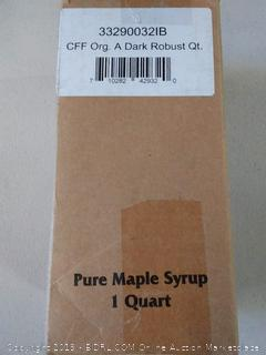 Coombs Family Farms Organic Maple Syrup -- 32 fl oz | Smith's Ship