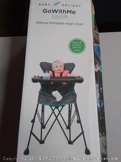 Baby Delight GoWithMe Uplift Deluxe Portable High Chair (Online $79.99)