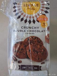Simple Mills Naturally Gluten Free Crunchy Cookies Double