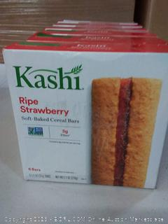 Kashi Cereal Bar, Ripe Strawberry, 6 - 1.2 Ounce Bars, (Pack