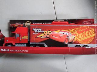 Disney Pixar Cars 3 Mack Portable Playcase (Online $41.85)