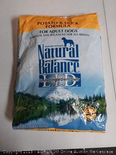 Potato & Duck Formula For Adult Dogs Natural Balance Dry Dog Food