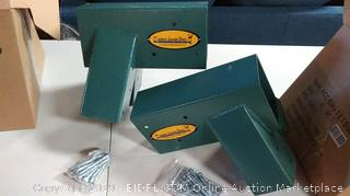 Easy 1-2-3 A-Frame Swing Set Brackets with All Mounting Hardware (Online $79.00)