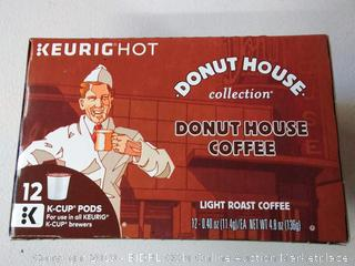 Donut House Collection Donut House Coffee Light roast coffee- ( count of 6)