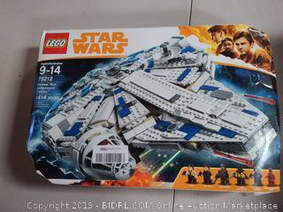 LEGO Star Wars Solo: Kessel Run Millennium Falcon 75212 Starship Model Set, 1414 Pieces (Online $149.79)