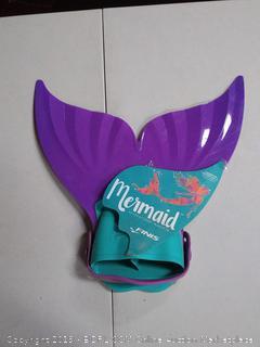 FINIS Mermaid Swim Monofin in Paradise Purple